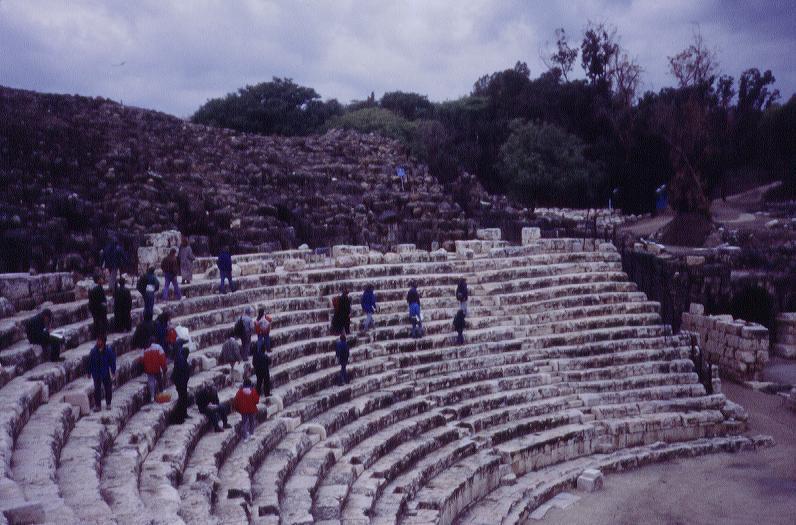 04206002 Beth Shan Theater At Scythopolis Jpg